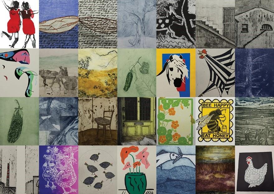 """Interpretations in Printmaking"""